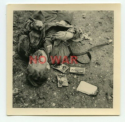 Wwii Original War Photo Kia German Paratrooper Young Soldier W Personal Photos