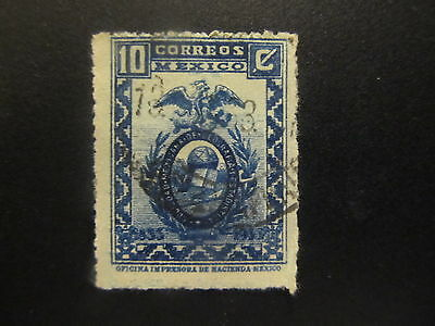 1933 - Mexico - Emblems Of Mexican Society Of Geography - Scott 686 A97 10C - Me