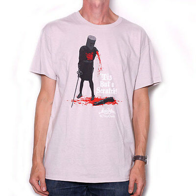 Monty Python T Shirt - Holy Grail 'Tis But A Scratch 100% Official Licensed