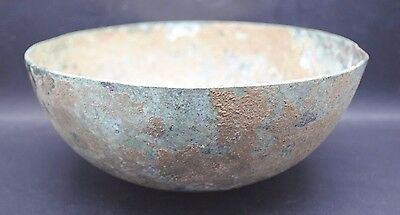 Rare Ancient Greek Bronze Bowl 1St Millennium Bc