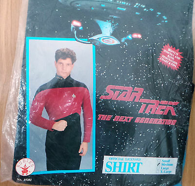 Star Trek Next Gen : Teal Shirt / Uniform : Medium (Xp)