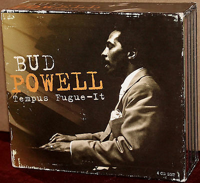 PROPER 4-CD Set: BUD POWELL - Tempus Fugue-It -  PROPERBOX-22 - 2001 UK