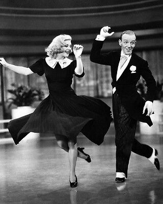 Dancers, Actor FRED ASTAIRE & Actress GINGER ROGERS Glossy 8x10 Photo Poster