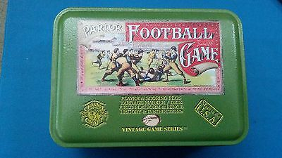 Parlor Football Dice Game Sealed In Tin
