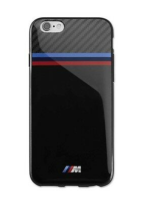 BMW Genuine M Collection Mobile Phone iPhone 6 Soft Case Cover Black 80212413758