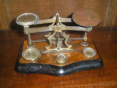 ANTIQUE Victorian POSTAL SCALES by T J SMITH SON & Co