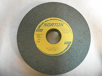 "Norton 39c60-i8vk 10"" x 1-1/2"" 60 Grit Silicon Carbide Surface Grinding Wheel"