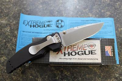 "NEW Hogue 34170 EX-01 Extreme Series 3.5"" Drop Point Folding Knife Aluminum"