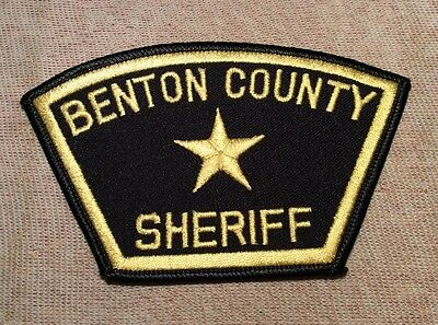 OR Benton County Oregon Sheriff Patch