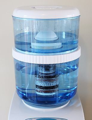 New Aquaport Water Replacement 20l Bottle Set BPA 8 Stage Awesome Water Filter