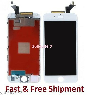 New Replacement White LCD Screen + 3D Touch Digitizer Assembly for iPhone 6S 6s