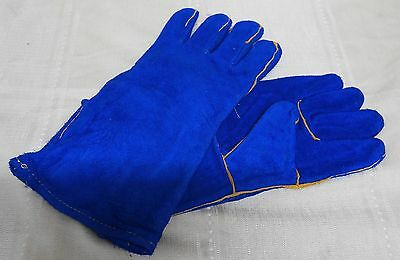 Welding Gloves Welders Leather Gloves Long