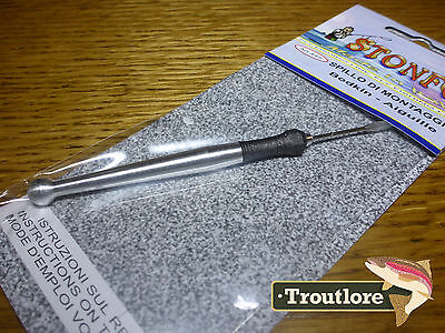 Stonfo Bodkin Soft Touch Handle Dubbing Needle - New Fly Fishing Tying Tool