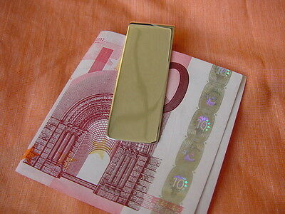 Geldclip Moneyclip 55mm x 20mm Sterling Silber 925