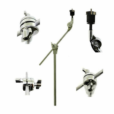 Cymbal Boom Arm Stand 19mm Pipe Diameter Professional Heavy Duty 5 Year Warranty