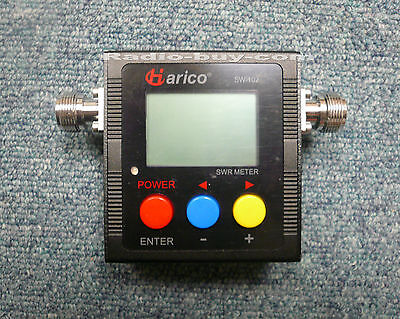 Harico SW-102 Digital Frequency Power & SWR V/U Meter 125-525Mhz (Max.120W) part
