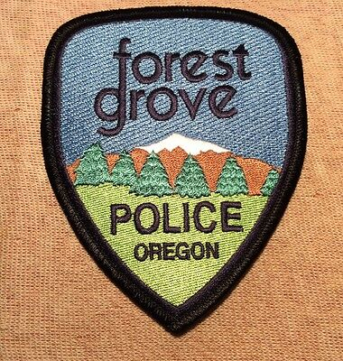 OR Forest Grove Oregon Police Patch