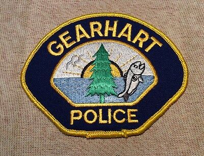 OR Gearhart Oregon Police Patch