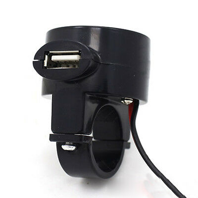 Waterproof Motorcycle 12V 2.1A USB Port Power Supply Socket Charger Cell Phone