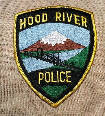 OR Hood River Oregon Police Patch