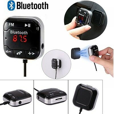 Bluetooth Magnetic Car MP3 Player FM Transmitter USB Charger SD Handsfree