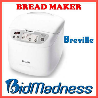 BREVILLE ELECTRONIC BREAD MAKER BAKERS OVEN w/ 23 AUTO PROGRAMS BBM100 P'UP AVA