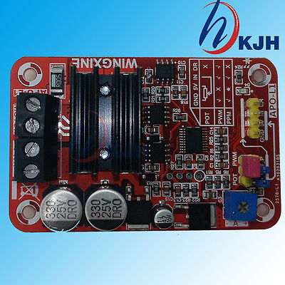 THREE-FUNCTION BRUSHED DC motor controller + PWM + ESC +