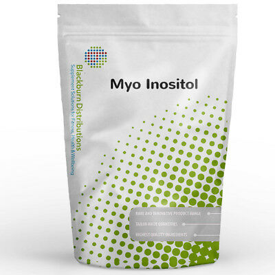 Inositol Powder - Myo-Inositol - 1Kg - Pcos, Ocd, Anxiety, Healthy Brain