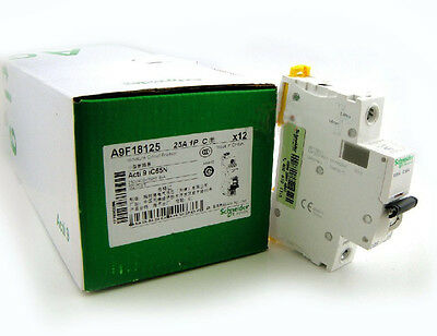 New Schneider small IC65N 1P C25A air circuit breaker switch