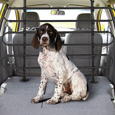 Large Universal Heavy Duty Car Van Pet Dog Cat Guard Safety Barrier Adjustable