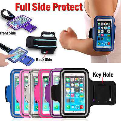Gym Running Jogging Sports Armband Case Holder Strap For iPhone 5 / 6 / Plus