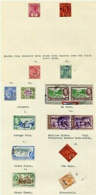 British Honduras Rare Postmarks And Covers Rubber Cancels 1888/1962