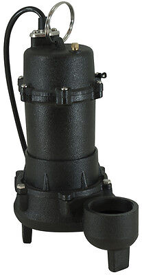 MWL-6500 Continous Duty Cast Iron Sump Pump