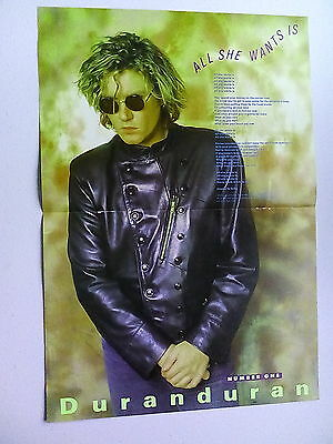 Duran Duran                   Double Page  Poster (LMG29)