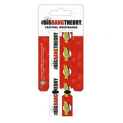 The Big Bang Theory Festival Wristbands Arm Gift New Official Licensed Product