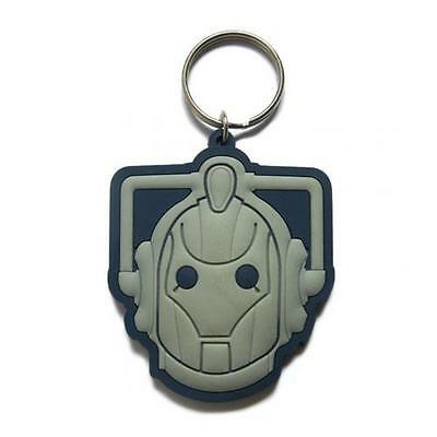 Official Licensed Product Dr Doctor Who Keyring Cyberman Key Ring Gift Fan New