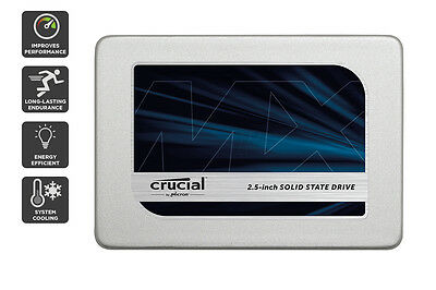 """Crucial 525GB MX300 SATA 2.5"""" 7mm with 9.5mm adapter SSD (CT525MX300SSD1)"""
