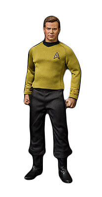 QMX Master Series Star Trek: TOS Articulated Kirk 1/6 Scale Action Figure