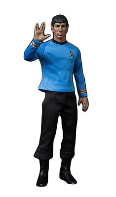 QMX Master Series Star Trek: TOS Articulated Spock 1/6 Scale Action Figure