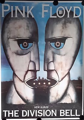Pink Floyd, Division Bell, Giant Vintage Poster. 38x55Inch. FREE INT.SHIPPING