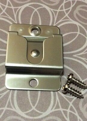 Microphone Clip For CB Radio, Marine UHF,  Stainless Steel Professional
