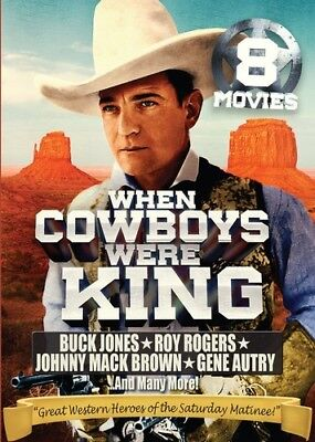 When Cowboys Were King: 8 Movie Collection [New DVD] Full Frame, 2 Pack