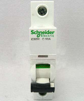 New Schneider small IC65N 1P C50A air circuit breaker switch