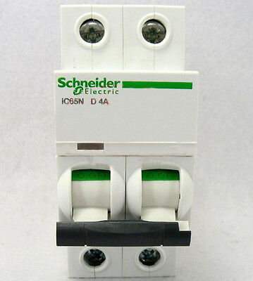 New Schneider small IC65N 2P D4A air circuit breaker switch