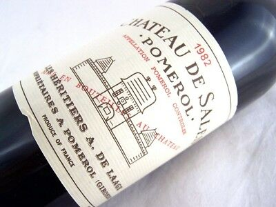 1982 CHATEAU DE SALES POMEROL Isle of Wine