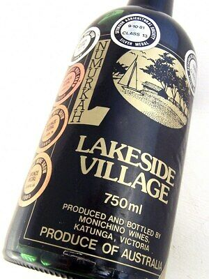 1980 MONCHINO WINES Lakeside Village Vintage Port Isle of Wine