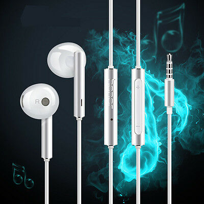 Original Genuine Huawei AM115 Stereo Headset In-ear Headphones With Microphone