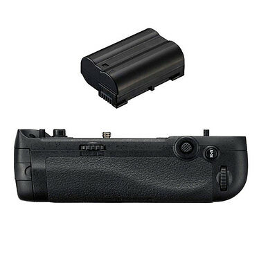 Vertical Battery Grip for Nikon D500 Camera Replacement of MB-D17 + 1pcs Battery