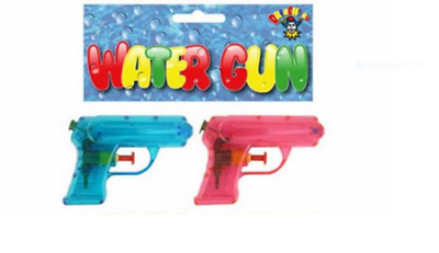 2 pack of neon colours 11cm water pistols