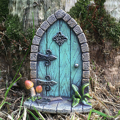 Fairy Door Mini Garden Decoration Ornament Magical Elf Pixie Christmas NEW 39164